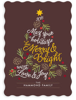 Be Merry and Bright Holiday Non-Photo Cards