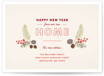 Home for the Holidays Holiday Non-Photo Cards