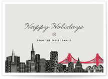 Big City - SF Holiday Non-Photo Cards