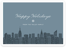 Big City - NY Holiday Non-Photo Cards