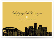 Big City - LA Holiday Non-Photo Cards