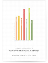 Off the Charts Holiday Non-Photo Cards