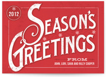 Classic Greetings Holiday Non-Photo Cards