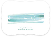 Peace and Quiet Holiday Non-Photo Cards