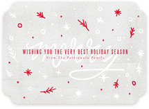 Merryfetti Holiday Non-Photo Cards