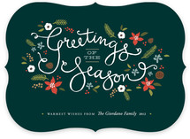 Greetings of the Season Holiday Non-Photo Cards