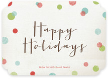 Dotty Holiday Holiday Non-Photo Cards