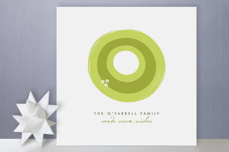Statement Wreath Holiday Cards