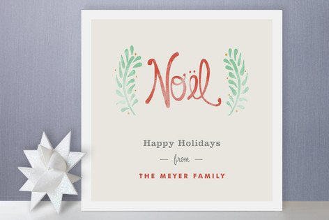 Antique Noel Holiday Non-Photo Cards