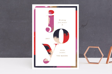 Graphic Glory Holiday Cards