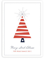 Patriotic Holiday Non-Photo Cards