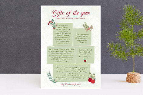 Christmas story Holiday Cards