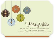 Decorative Ornaments Holiday Non-Photo Cards