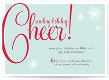 Cheers! Holiday Non-Photo Cards