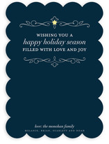 Sweet Star Holiday Non-Photo Cards