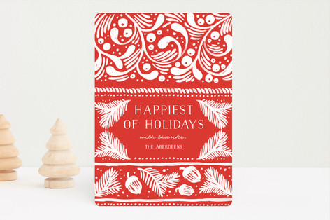Nordic Winter Holiday Cards