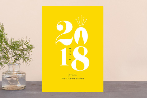 Celebrate a new year Holiday Cards