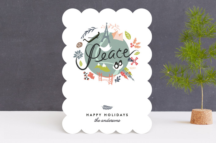Peace on Earth Holiday Non-Photo Cards