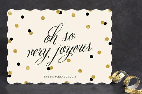 Oh So Joyous Holiday Cards
