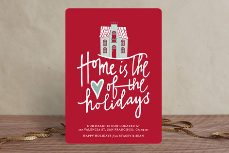 Home is the Heart Holiday Cards