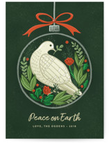 Peace Ornament by Jessica Ogden