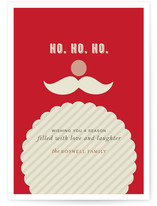 Joyeux Noel + St Nick Holiday Non-Photo Cards