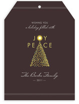 Tree of Joy Holiday Non-Photo Cards