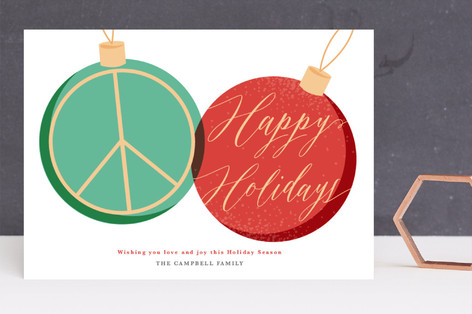 Peace Adorned Holiday Cards