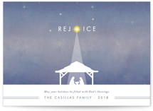 Nativity Holiday Non-Photo Cards