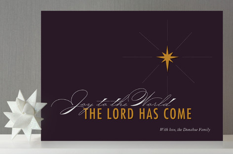 Star of Bethlehem Holiday Non-Photo Cards