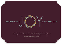 Holiday Joy Holiday Non-Photo Cards