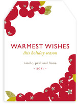 Mod Berries Holiday Non-Photo Cards