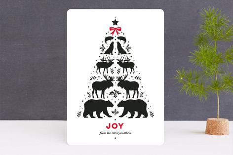 Wilderness Christmas Holiday Cards