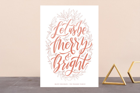 Let Us Be Merry Holiday Cards
