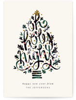 Oh Holy Night Tree by JeAnna Casper