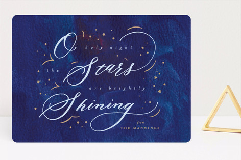 Holy Night Holiday Cards