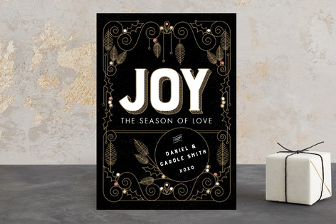 World Full of Joy Holiday Cards