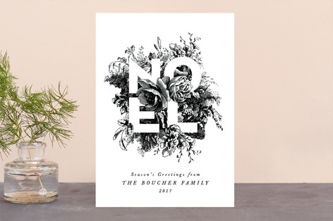 Rustic Bouquet Holiday Cards