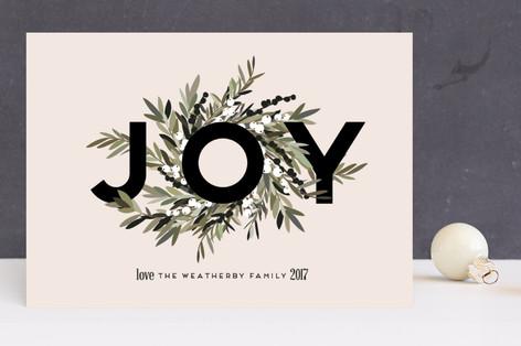 Joyous Wreath Holiday Cards