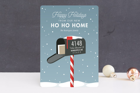 Merry Mailbox Holiday Cards