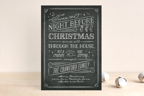 The Night Before Holiday Cards