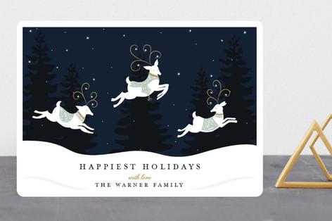 Reindeer Games Holiday Cards