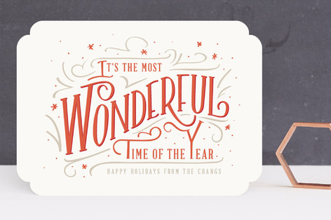 A wonderful time Holiday Cards