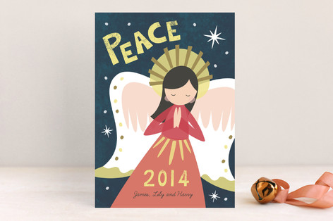 Sweet Angel Holiday Cards
