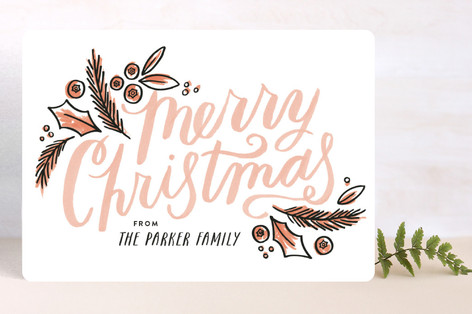 Offset Drawing Holiday Cards