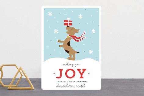 Joyful Pup Holiday Cards
