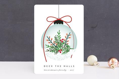Elegant Ornament Holiday Cards