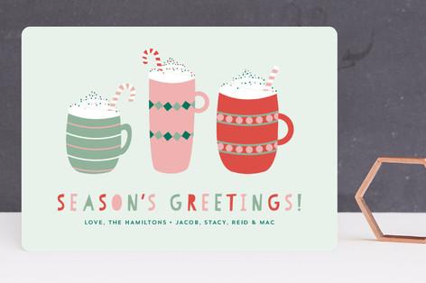 Hot Cocoa Holiday Cards