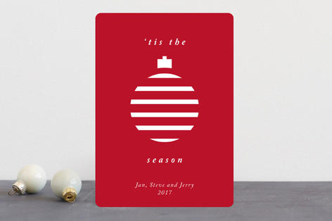 Merry Ornament Holiday Cards