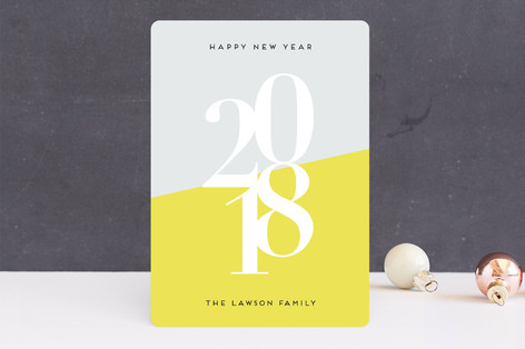 Bright New Year Holiday Cards